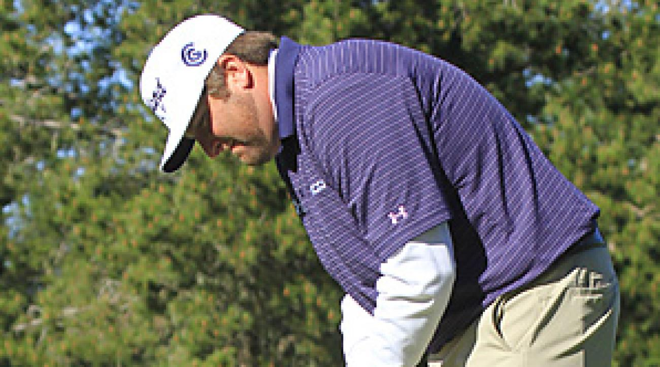 Steve Marino birdied his last two holes for a 7-under 65 at Spyglass Hill.