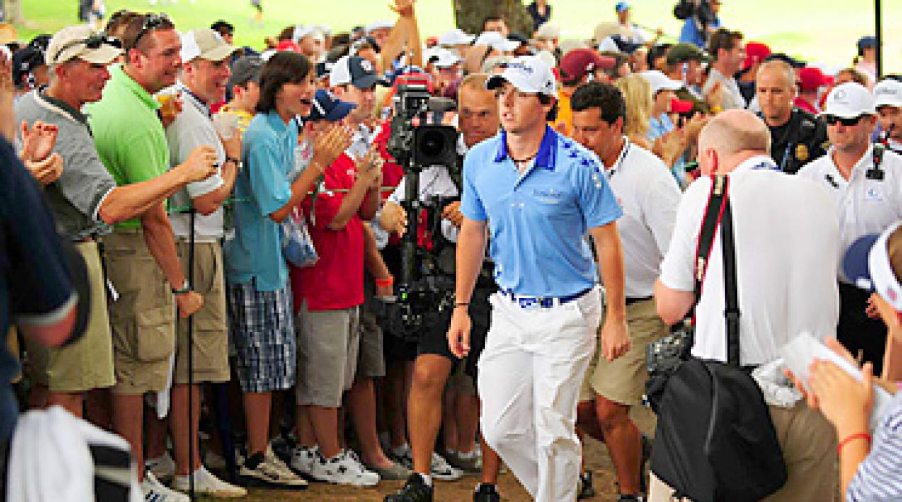 Rory McIlroy was embraced by the fans at Congressional throughout the U.S. Open.