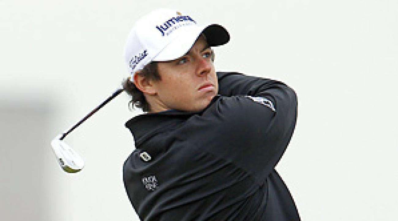 Rory McIlroy hasn't played a competitive round since winning the U.S. Open by eight shots.