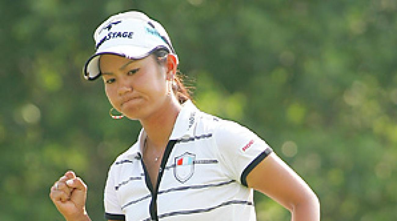 Ai Miyazato won for the fourth time in nine events this season.