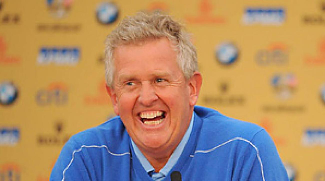 Colin Montgomerie played in eight Ryder Cups before captaining the 2010 European team.
