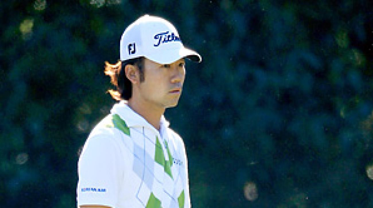 Kevin Na is known as one of the slowest players on tour today.