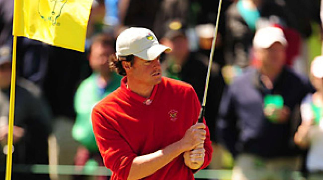 Nathan Smith missed the cut for the third time in three Masters appearances.