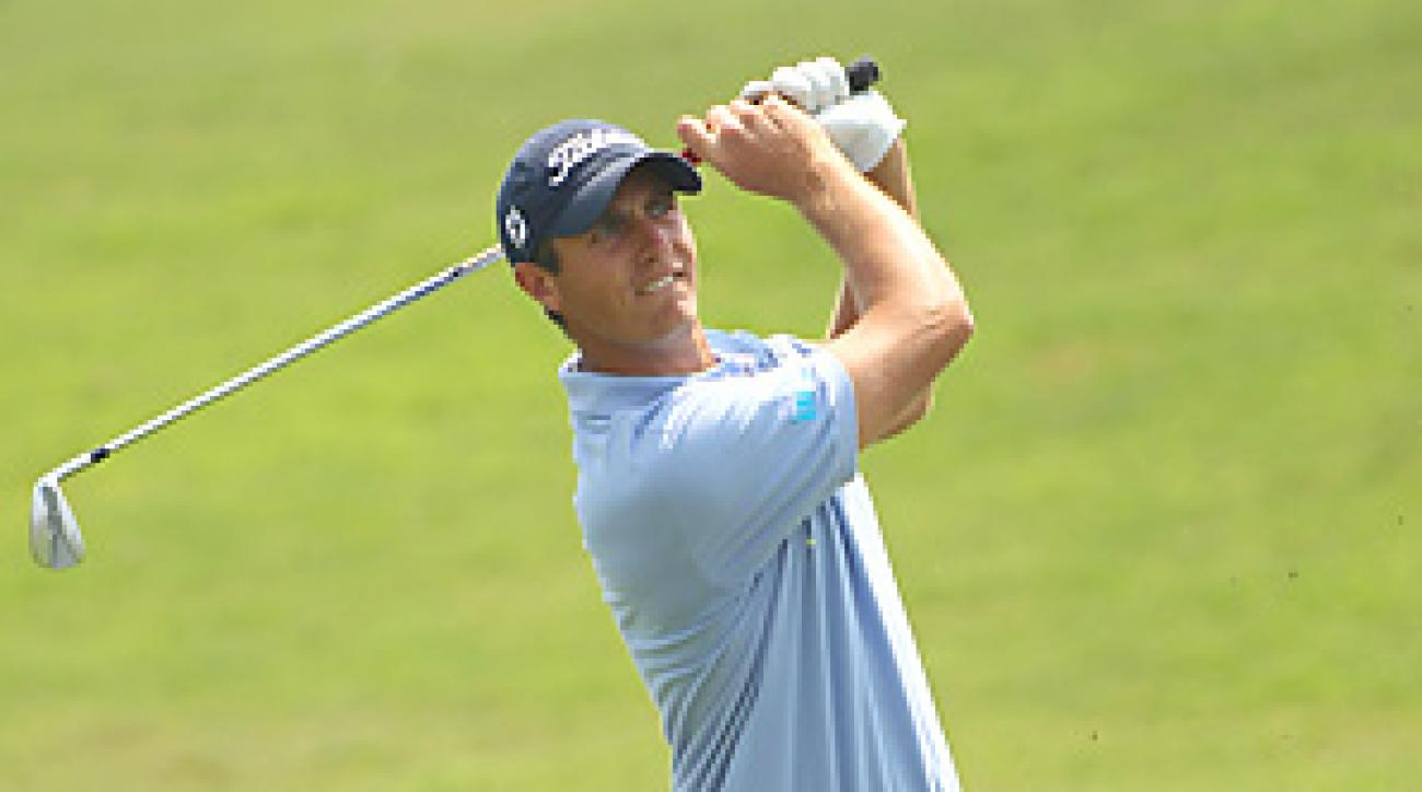 Nicolas Colsaerts set a tournament record at the China Open, finishing at 24 under.