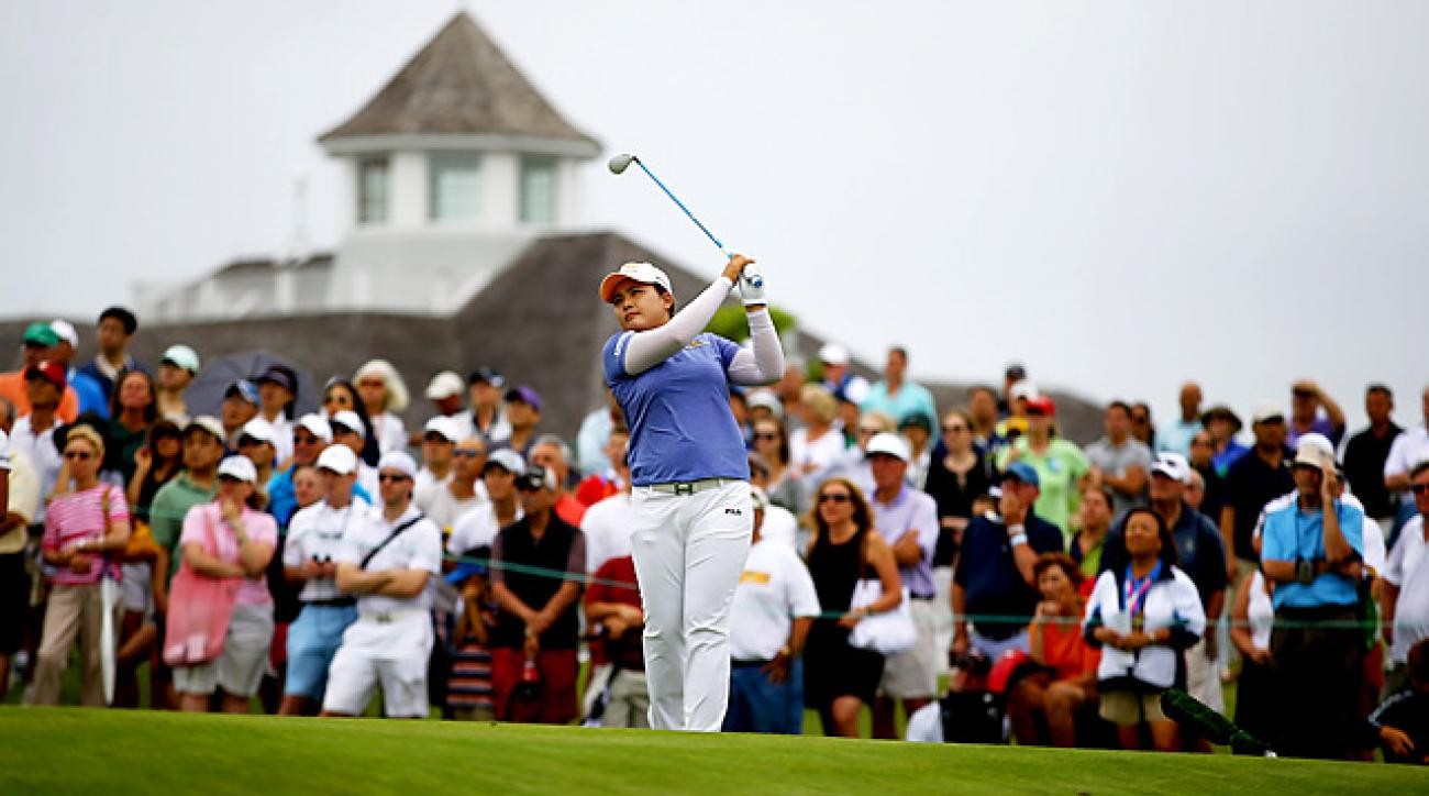 Inbee Park shot a 66 on Sunday to win the Evian Masters by two shots.