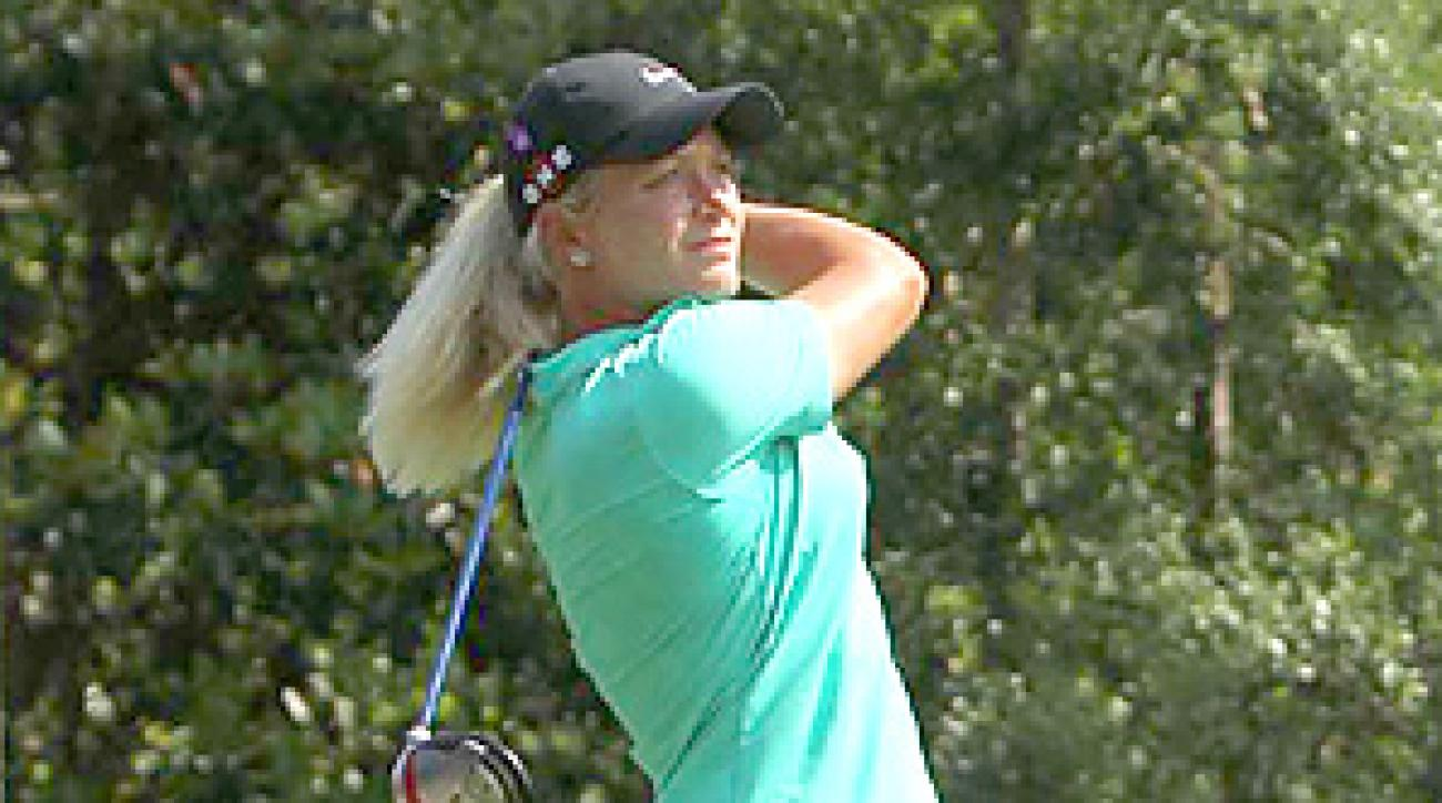 Suzann Pettersen's one major title came at the 2007 LPGA Championship.