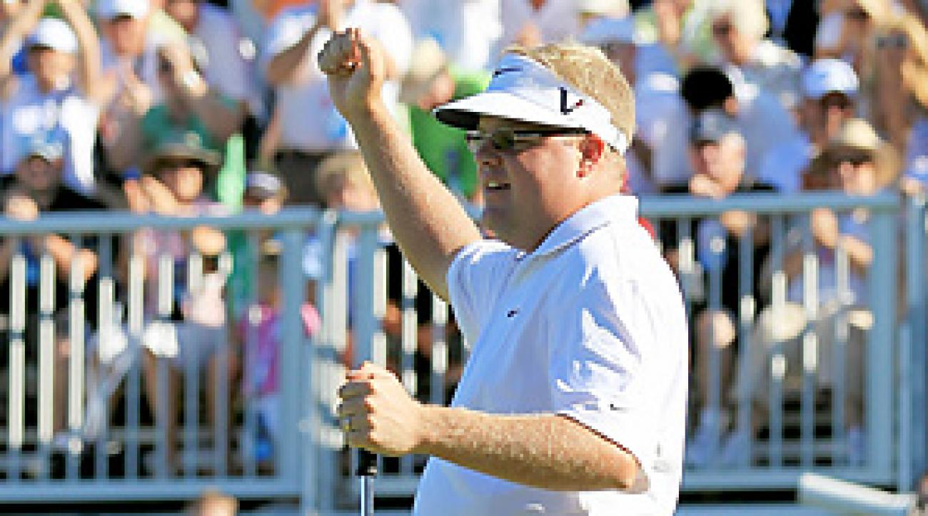 Carl Pettersson shot a Saturday 60, then backed it up with a 67 on Sunday for his fourth career PGA Tour win.