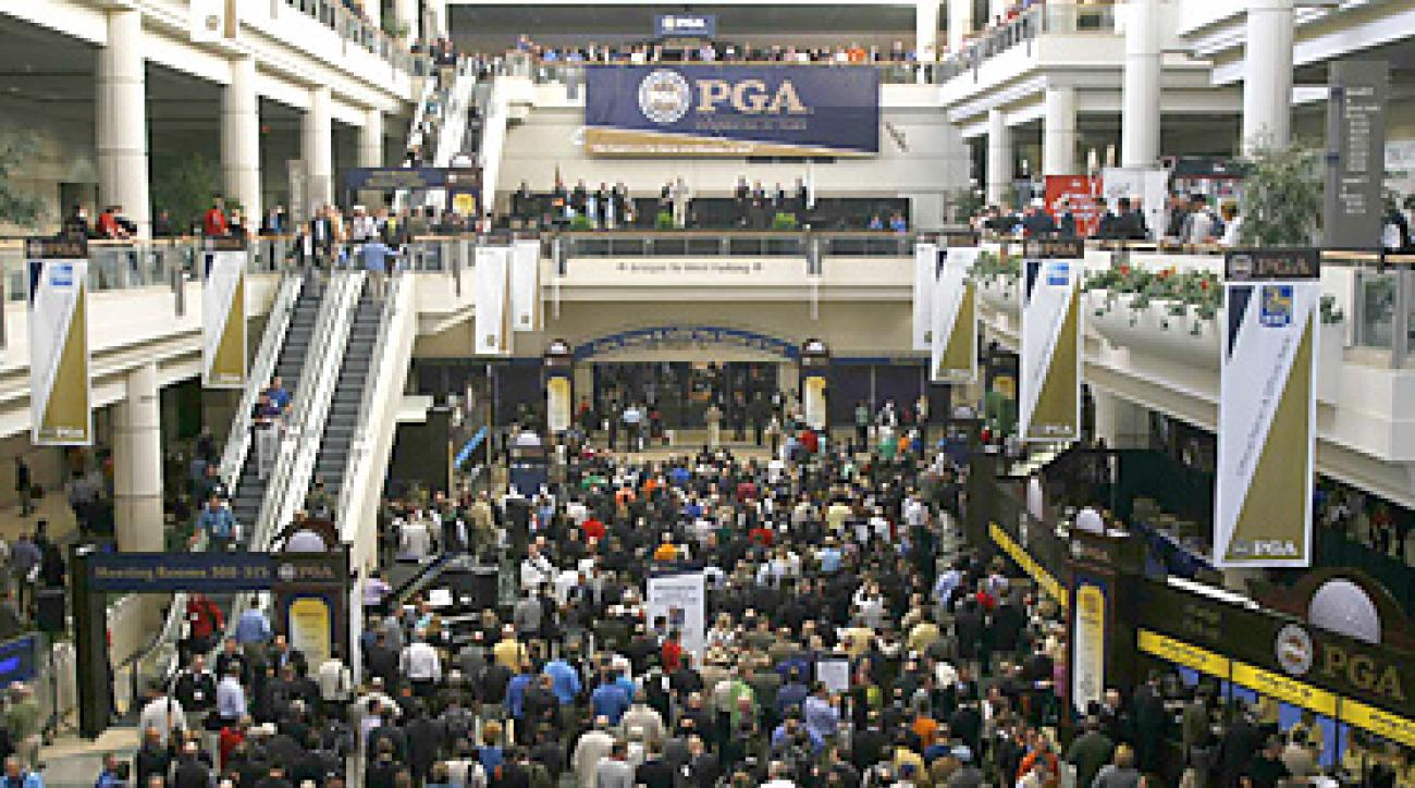 Attendance at the 2011 PGA Merchandise Show was up 3.5 percent, making it the largest show since 2008.