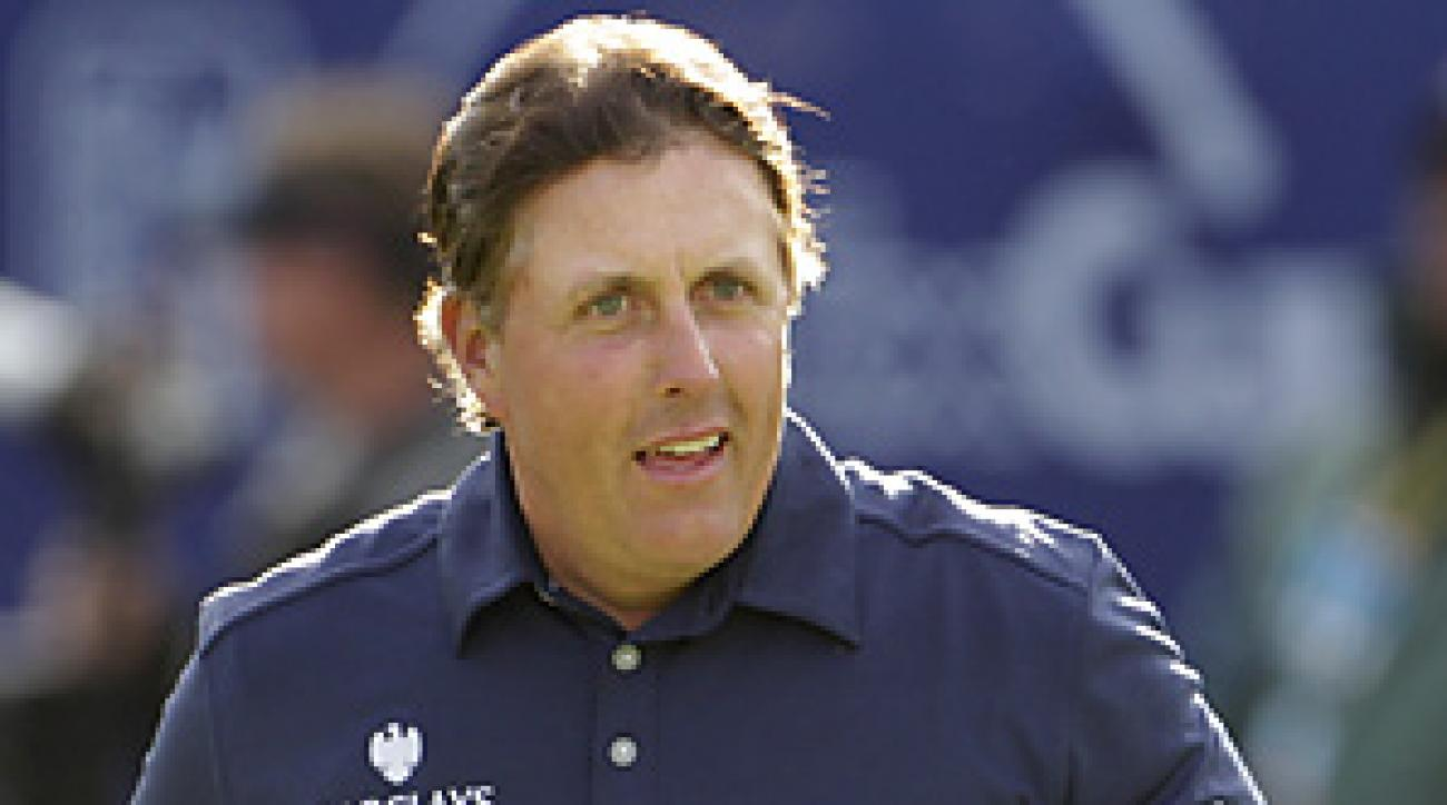 Phil Mickelson finished in second place at the Farmers Insurance Open, one shot behind Bubba Watson.