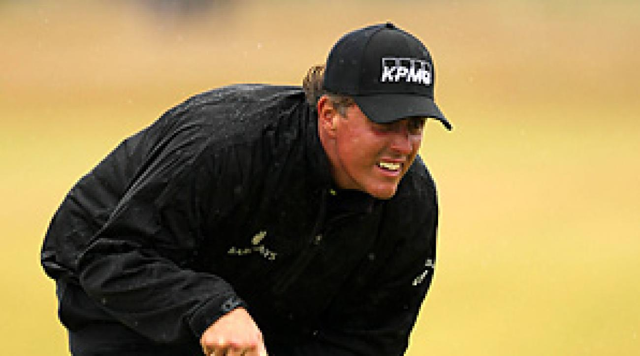 Phil Mickelson will play this week's Scottish Open at Castle Stuart.