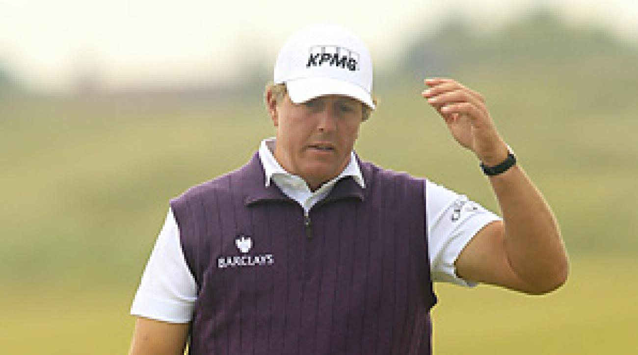 Phil Mickelson has never won an Open Championship.