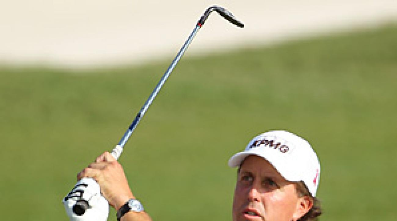 Phil Mickelson has been sporting a streamlined look this season.