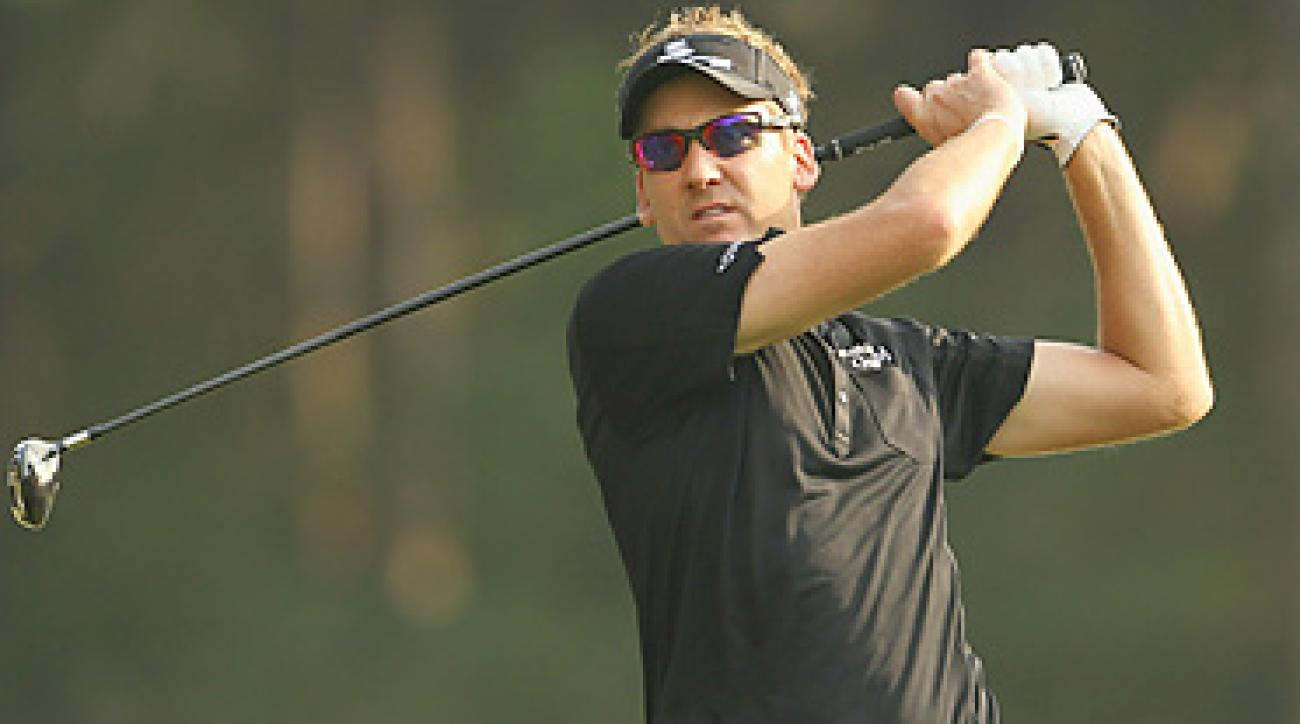 Ian Poulter won his second European Tour event of 2010 on Sunday.