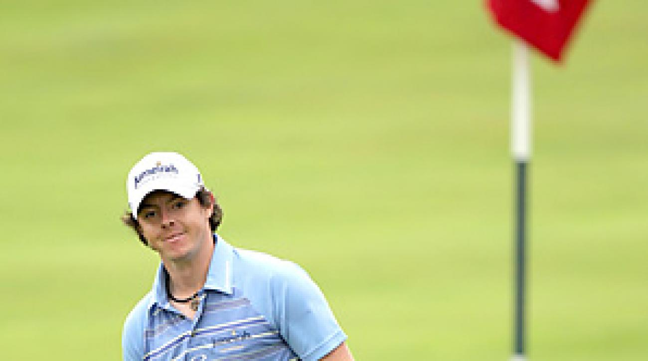Rory McIlroy became the first player to reach 13 under at any point in a U.S. Open.