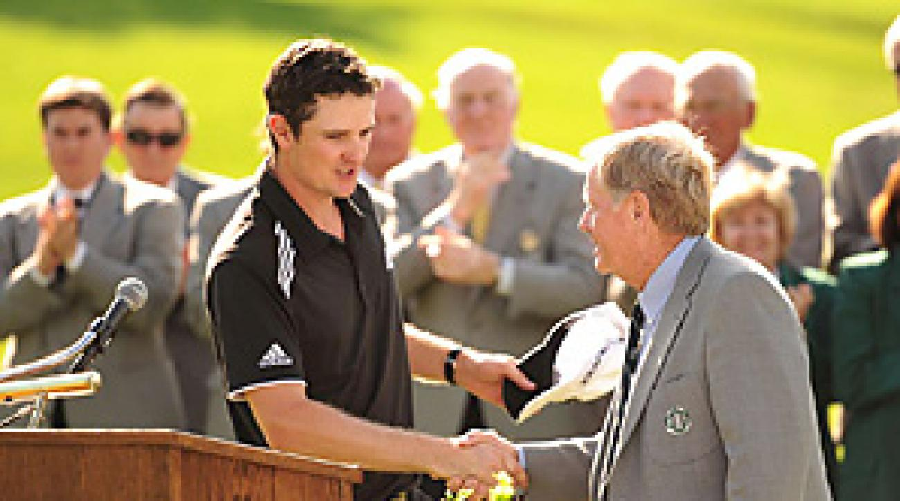 Justin Rose had a lot to say to Jack Nicklaus ... now we know what it was.