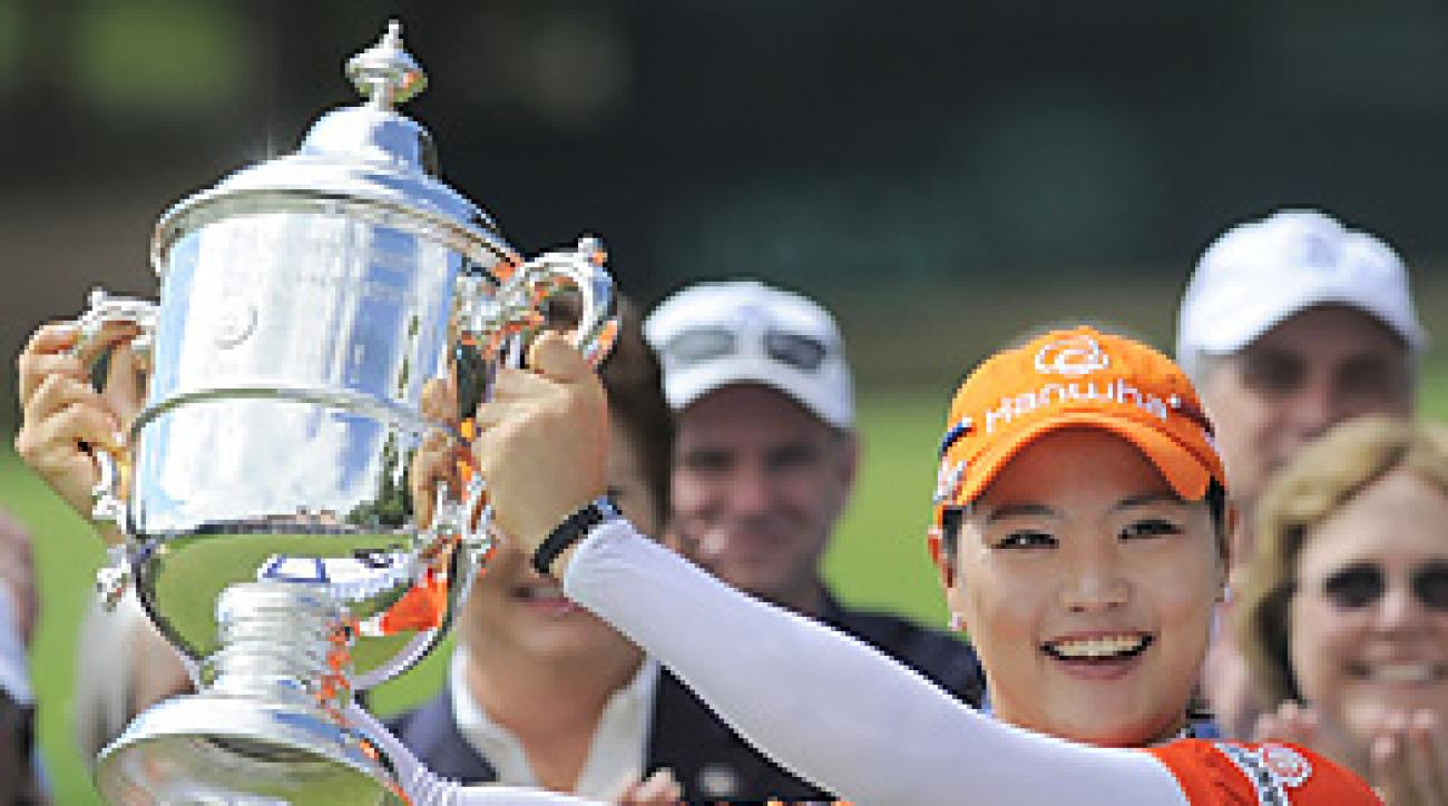 So Yeon Ryu won her first major in a playoff at the U.S. Women's Open.