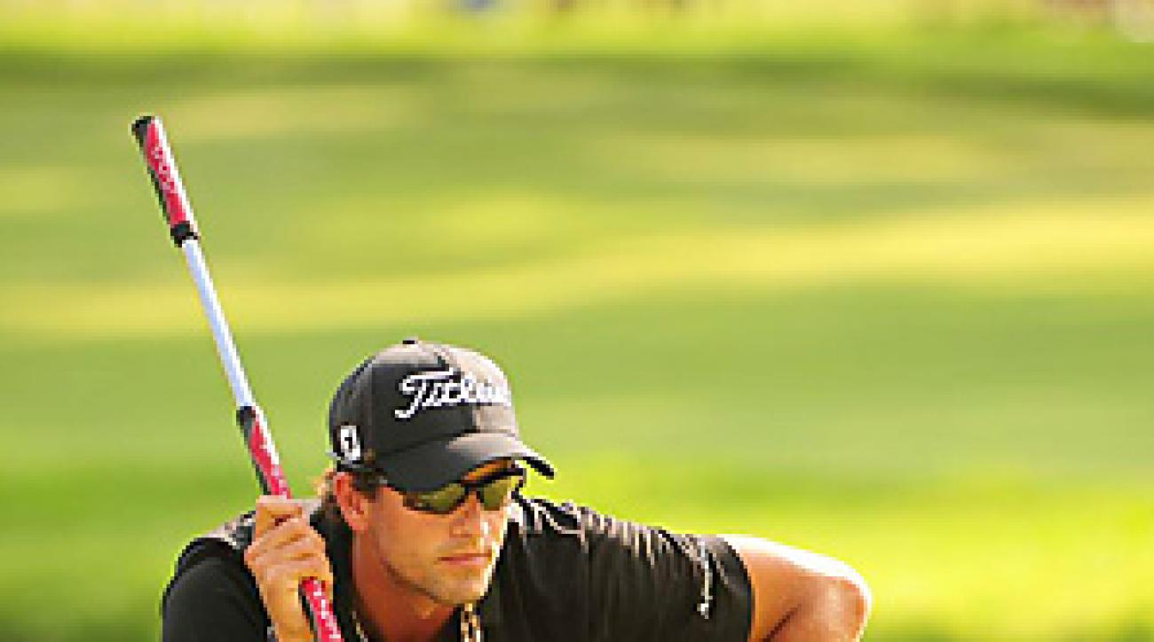 Adam Scott won the Bridgestone Invitational by four shots.