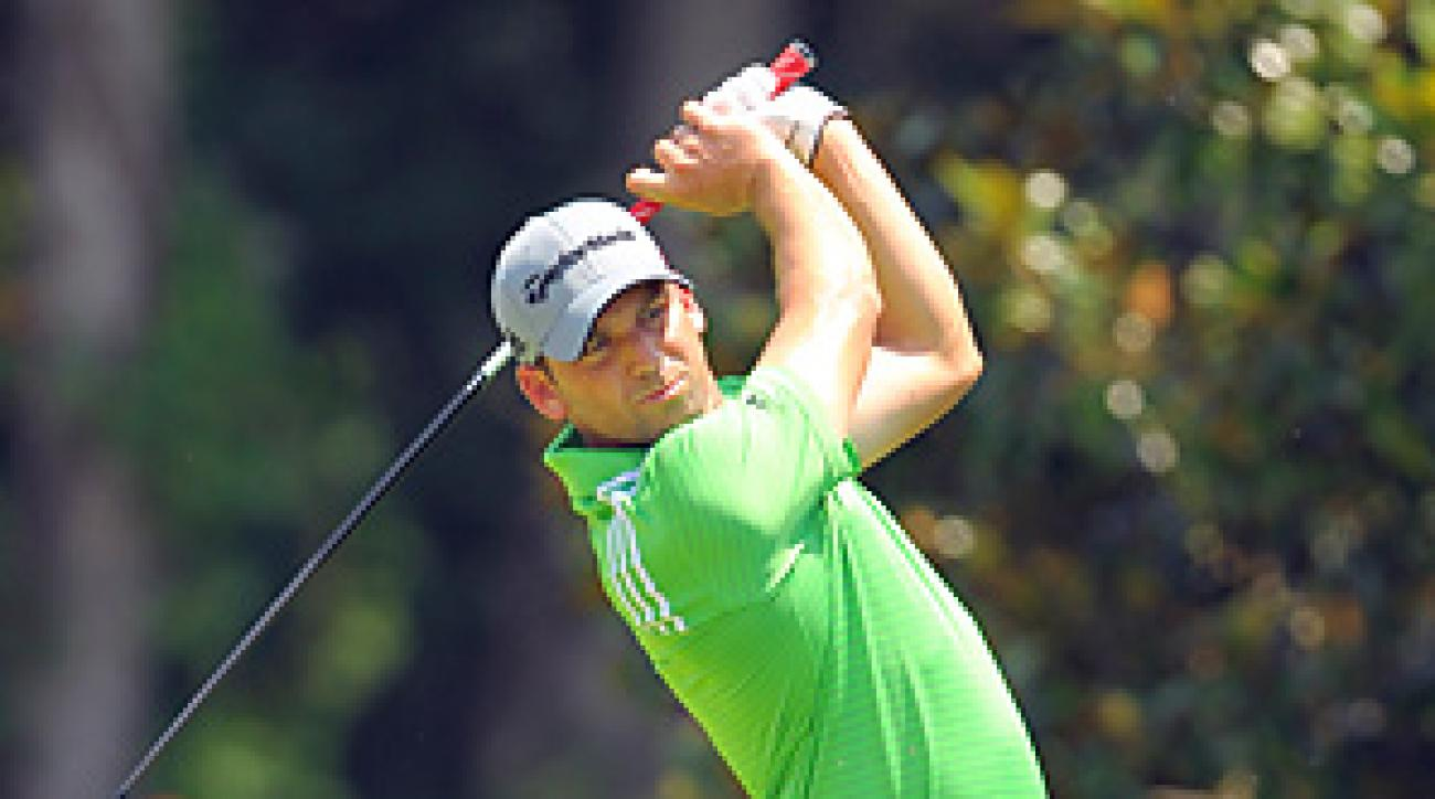 Sergio Garcia enters the FedEx Cup playoffs ranked 59th in the standings.