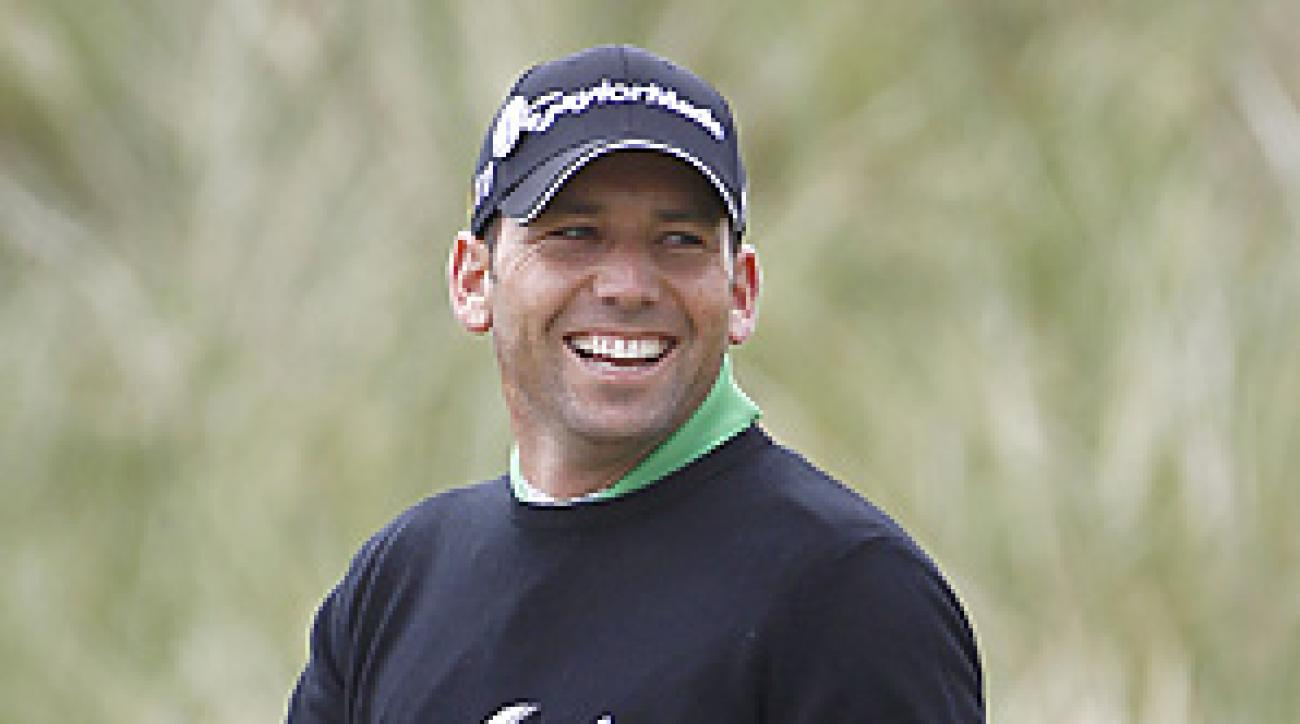 Sergio Garcia is seeking his first career major title this week at Royal St. George's.