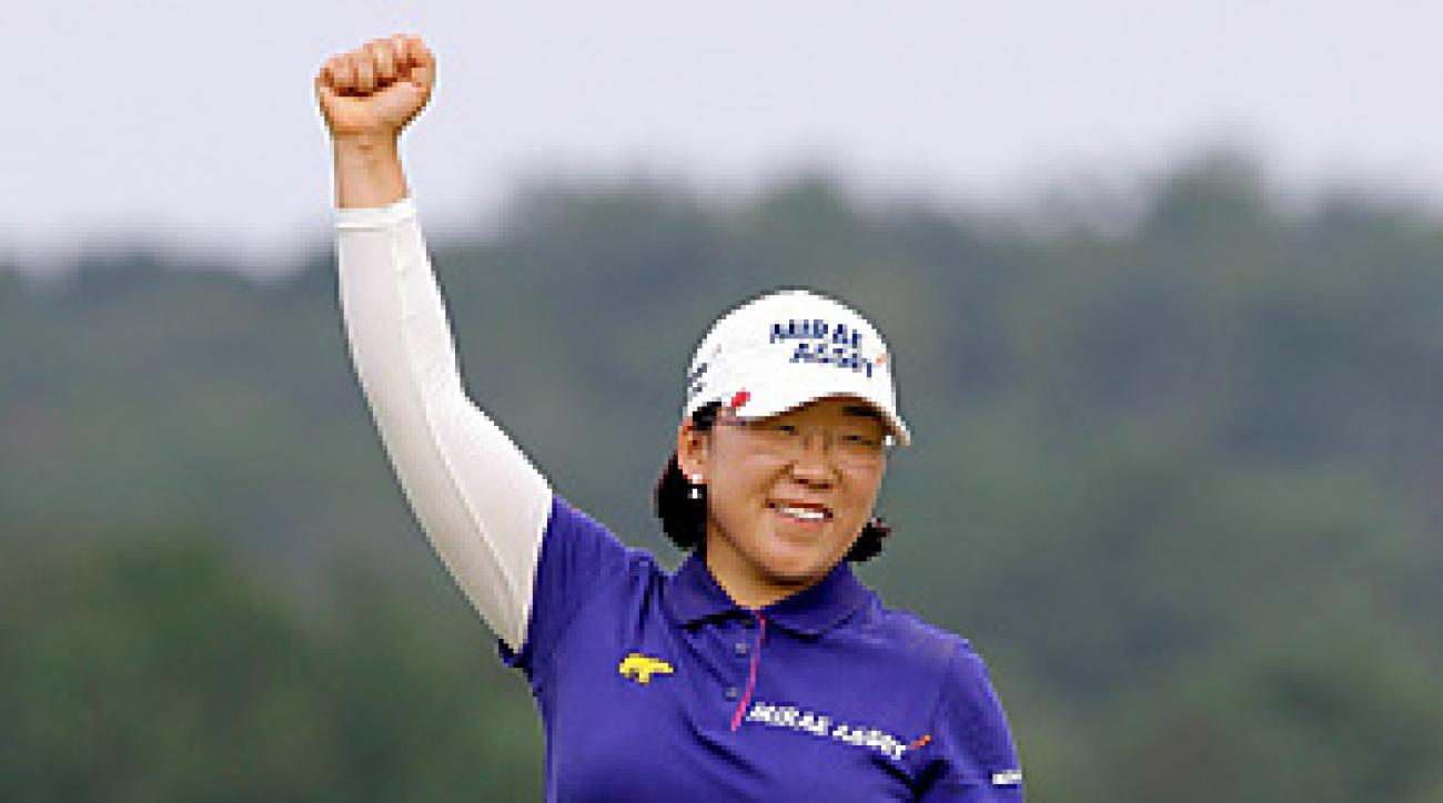 Jiyai Shin birdied all four par 5s in her bogey-free final round.