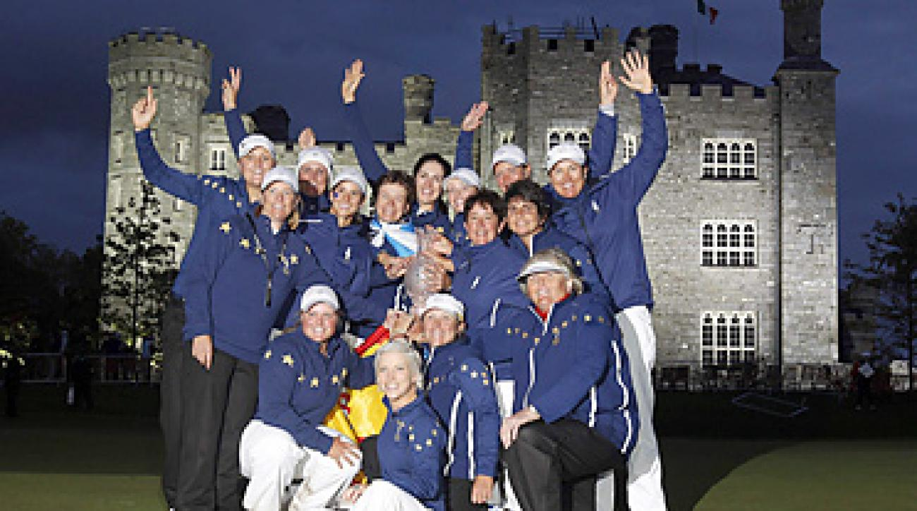 The Europeans won the Solheim Cup for the first time since 2003.