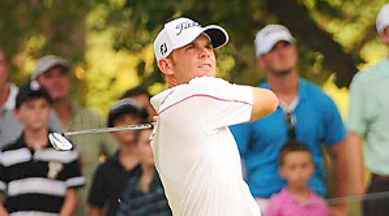 Brendan Steele shot a 66 on Saturday to tie for the lead through three rounds.