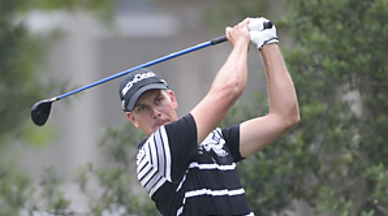 Henrik Stenson shot a one-under 70 in the opening round at the U.S. Open.