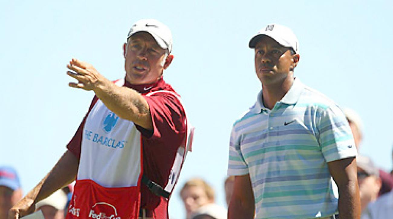 Steve Williams and Tiger Woods endured a winless season in 2010.