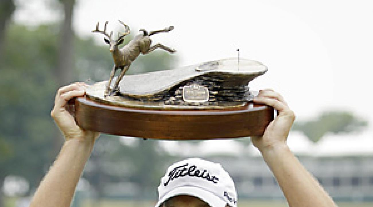 Steve Stricker won his third straight John Deere Classic.