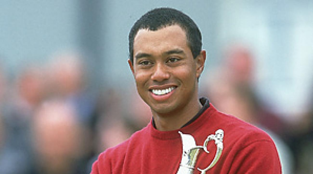 Tiger Woods was in a different place in his life when he clutched the claret jug in 2000.