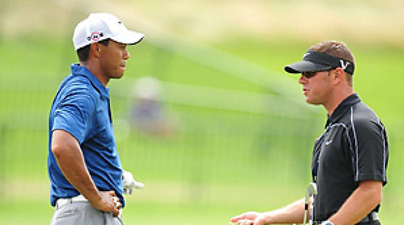 Tiger Woods began working with Sean Foley in 2010.