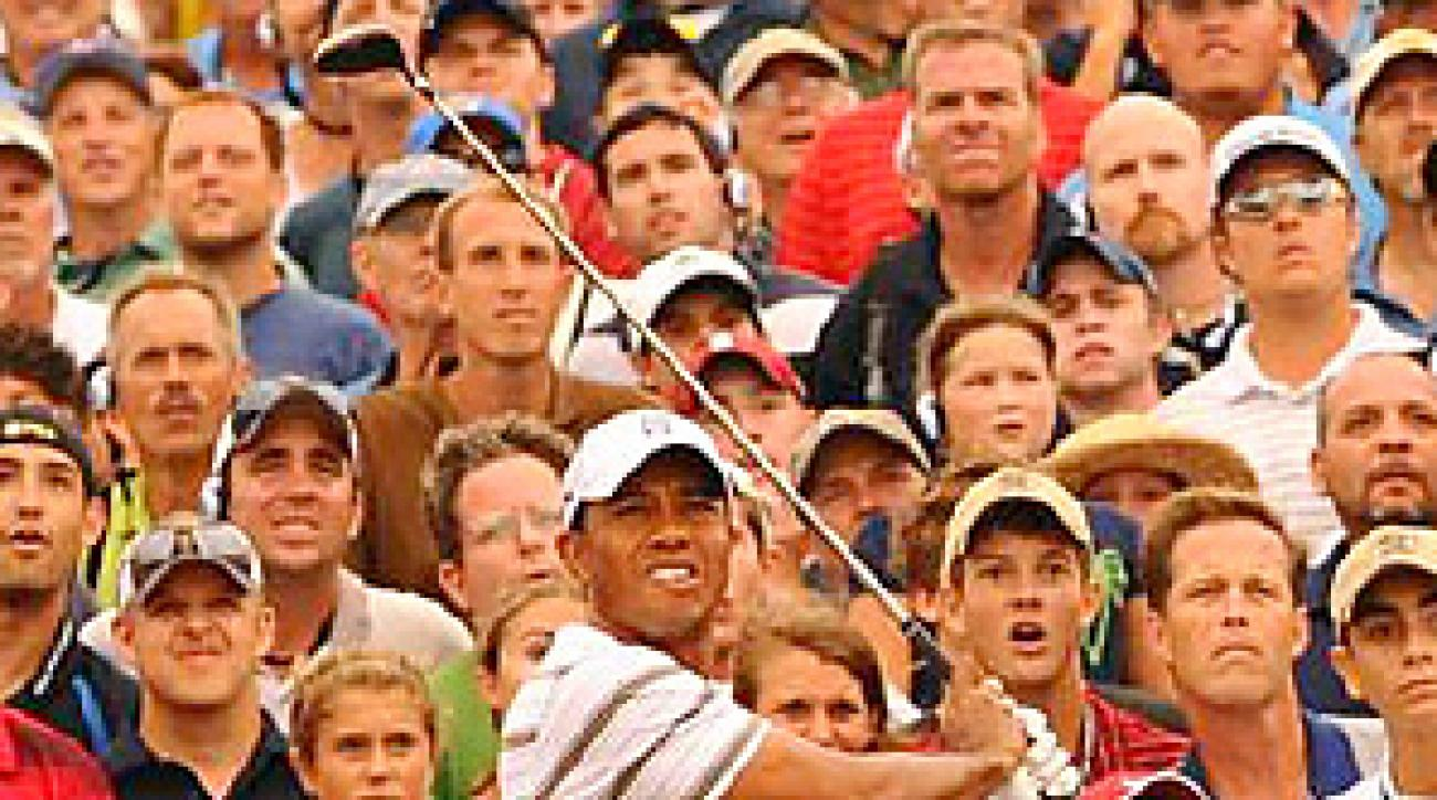 Tiger Woods is No. 108 in the FedEx standings through the PGA Championship.