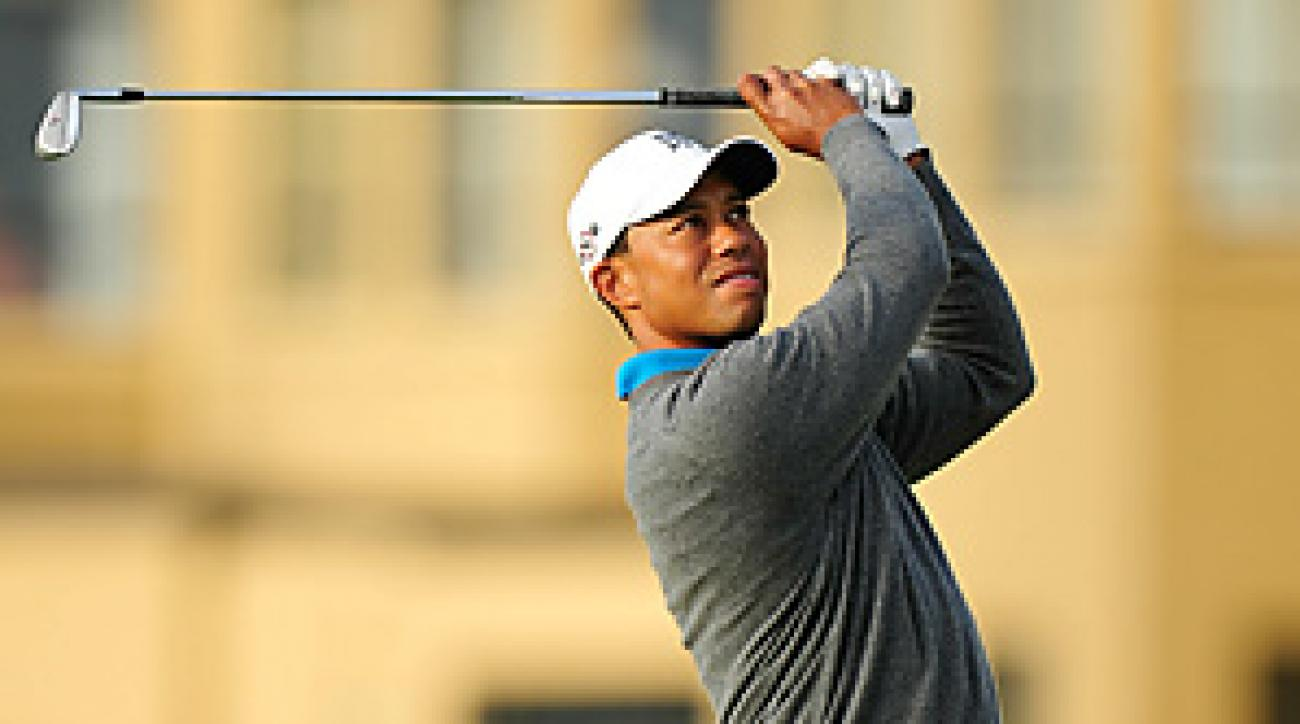Tiger Woods is seeking his 15th career major title this week at St. Andrews.