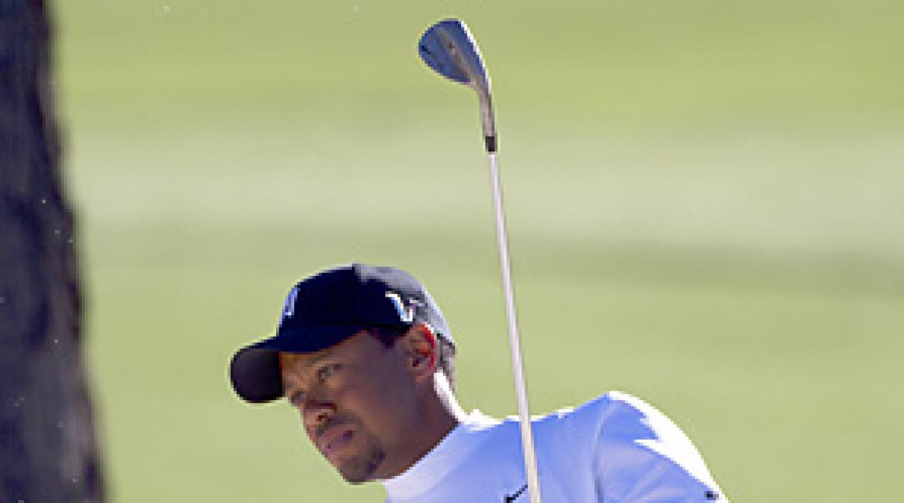 Tiger Woods is seeking his fifth career green jacket at Augusta National this week.