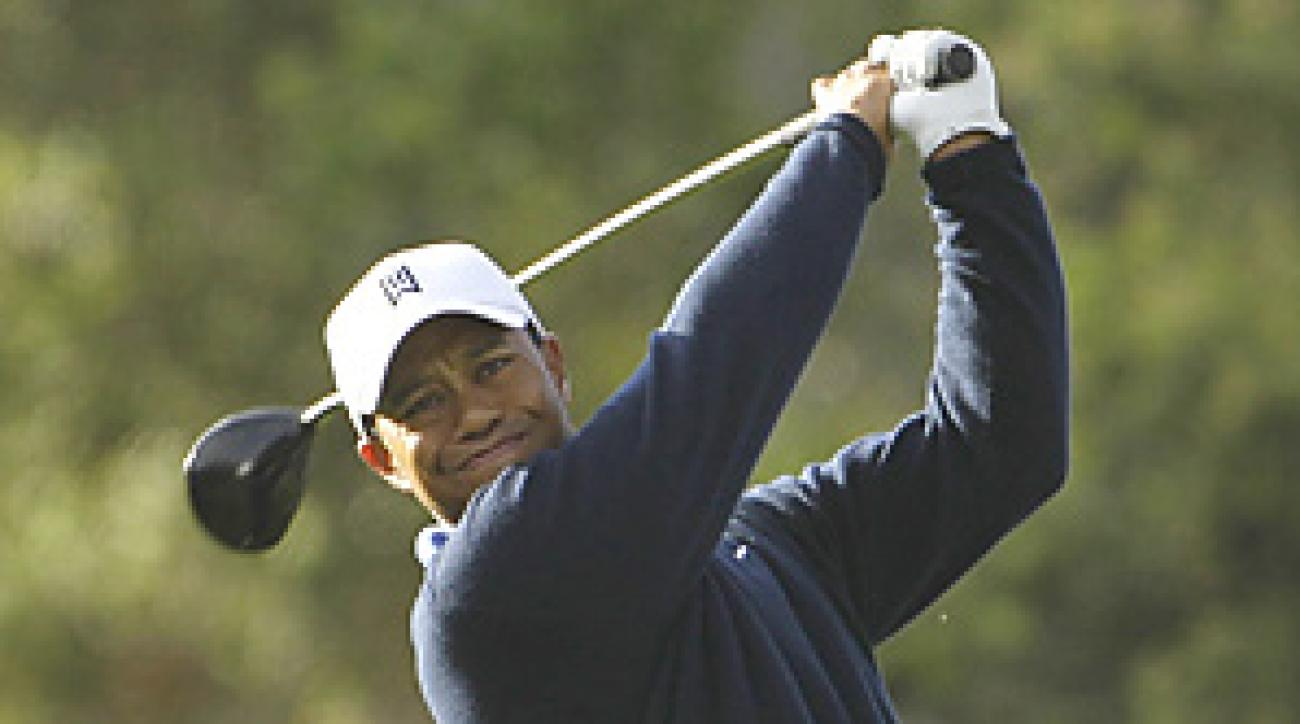 Tiger Woods is seeking his 15th major championship this week at Pebble Beach.