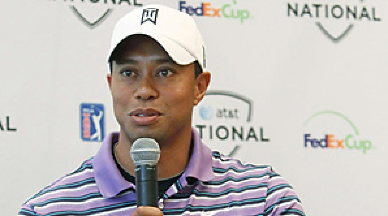 Tiger Woods said at his press conference that he hopes to play in the U.S. Open.