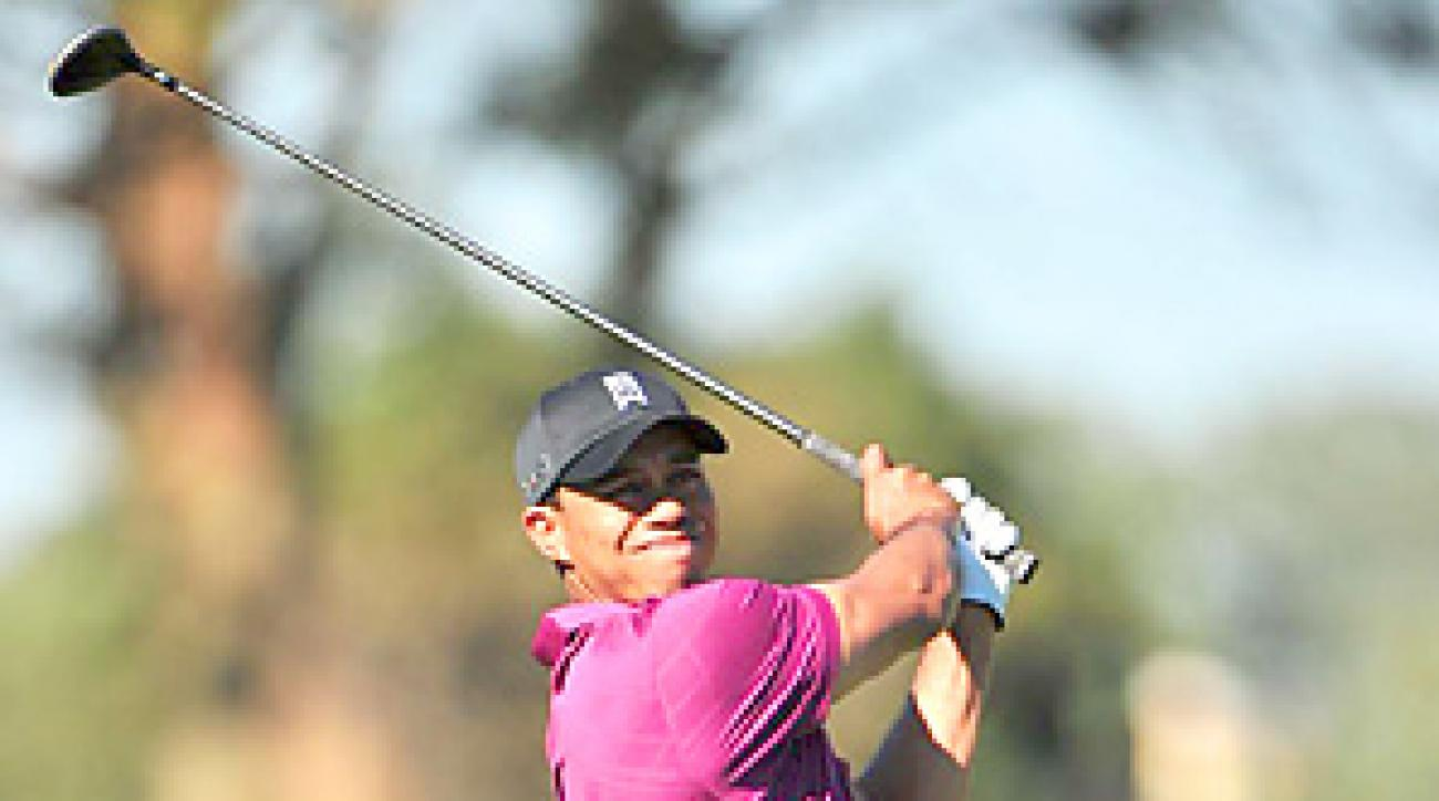 Tiger Woods shot a bogey-free 69 on Thursday at the Farmers Insurance Open.