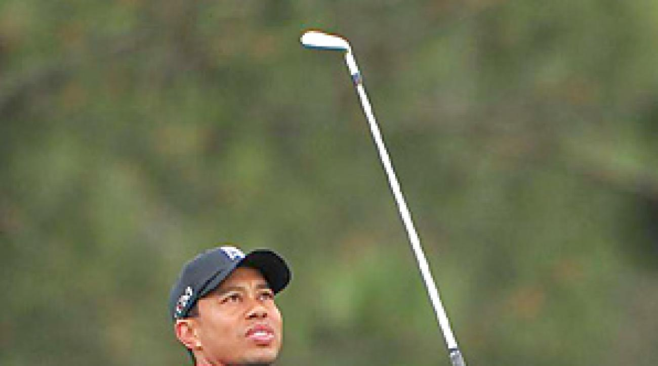 Tiger Woods shot 74-75 on the weekend at Torrey Pines.