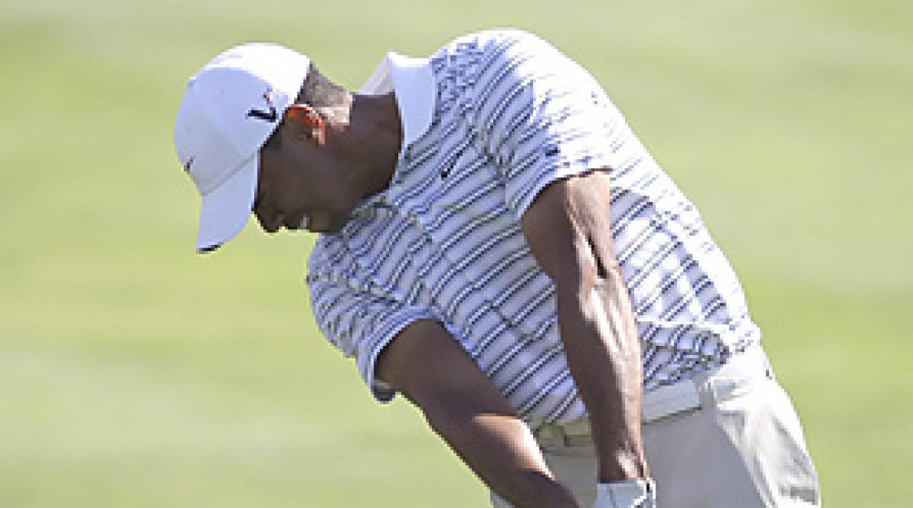 Tiger Woods will face Thomas Bjorn in the opening round of the Accenture Match Play.