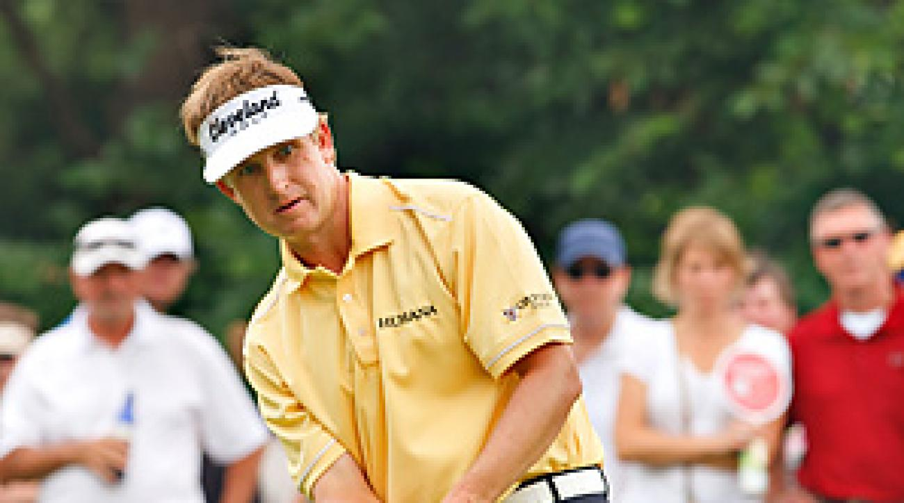 David Toms won the Colonial one week after losing the Players Championship in sudden death.