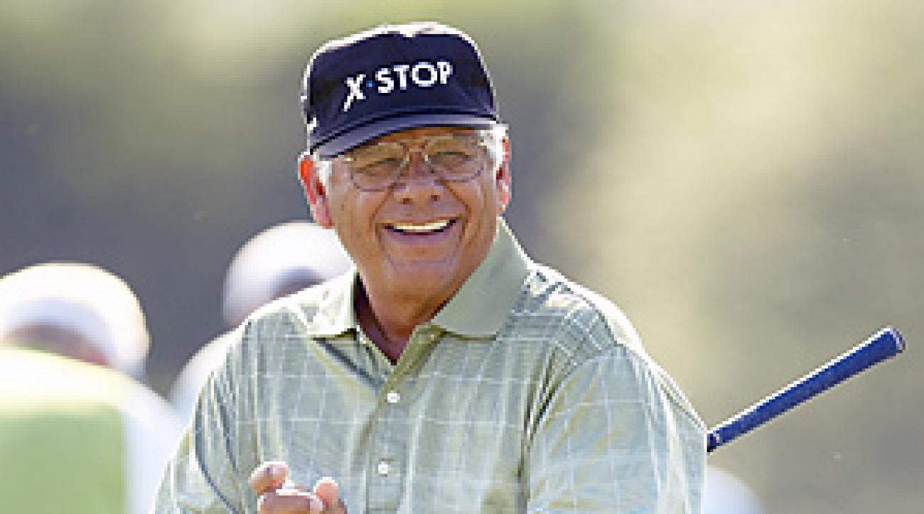 Lee Trevino would relish the chance to help Tiger Woods repair his swing.
