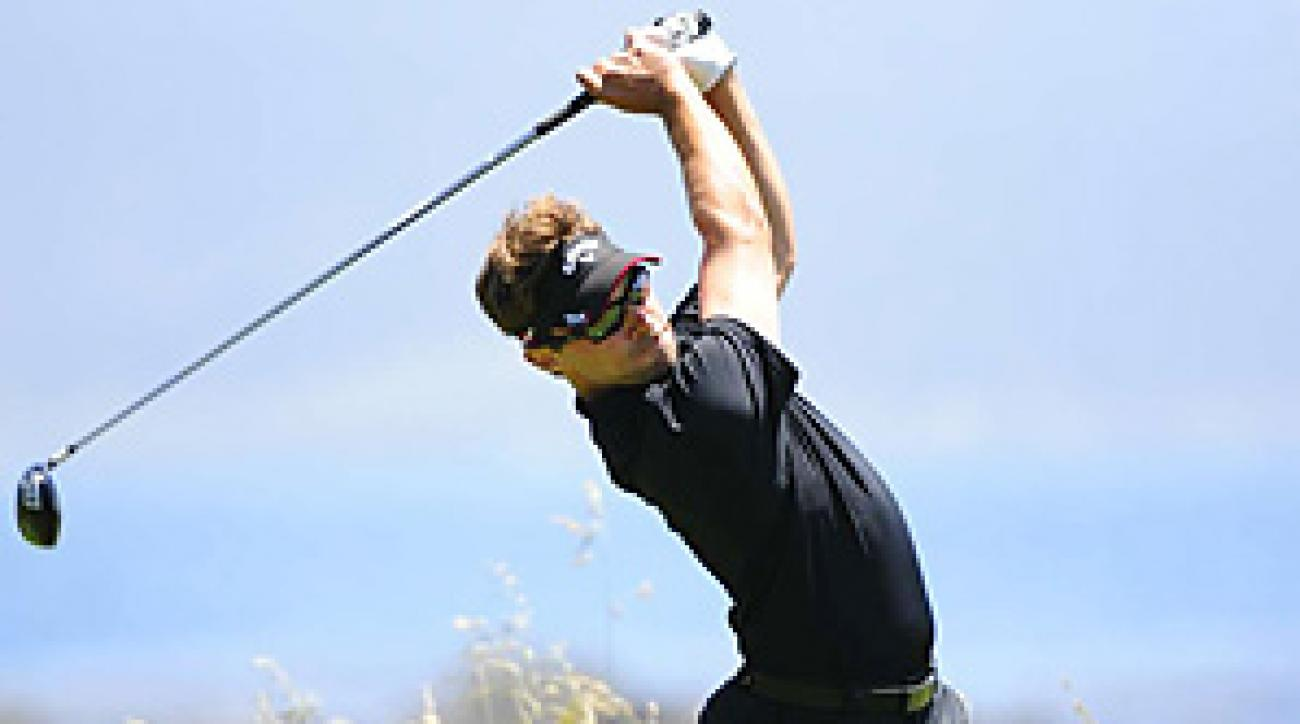 Ty Tryon made the cut on the number, but struggled through his final round on Sunday.