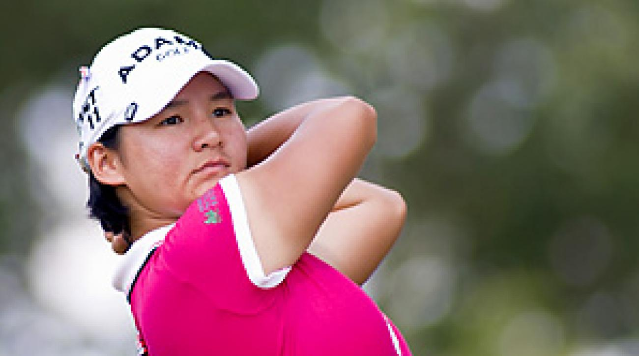 Yani Tseng beat Amy Yang on the first hole of sudden death.