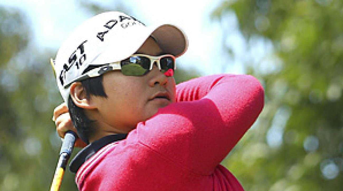 Yani Tseng finished with a four-round total of 16-under-par 276 on the par-73 Commonwealth Golf Club course.