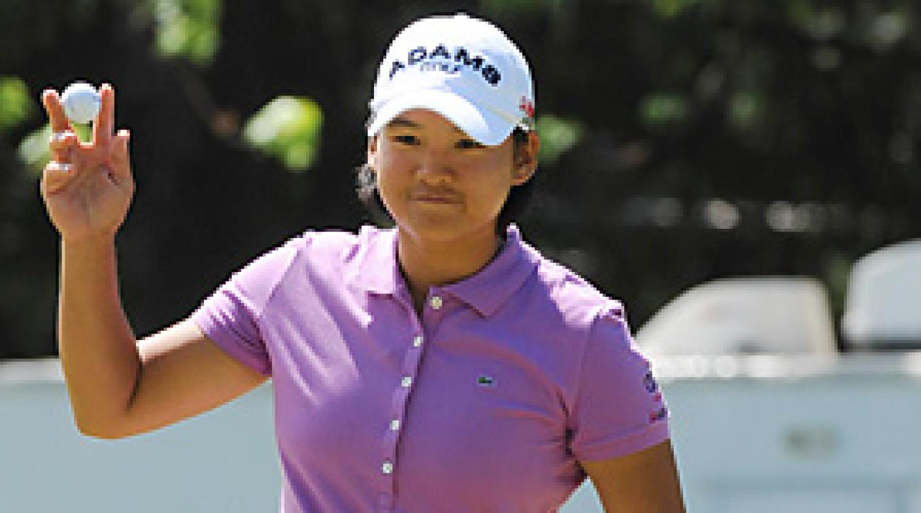 Yani Tseng is No. 1 in the world and tops on the LPGA money list.