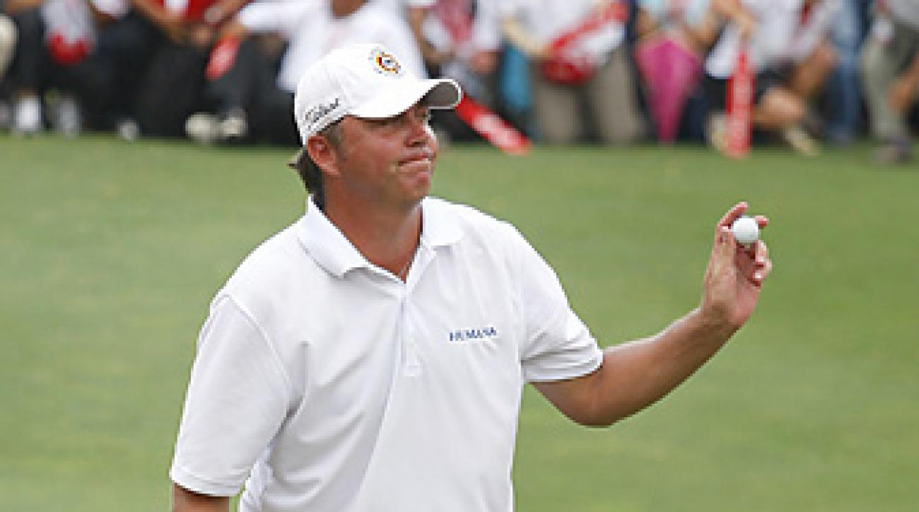 Bo Van Pelt birdied five of the last eight holes for a six-stroke victory.