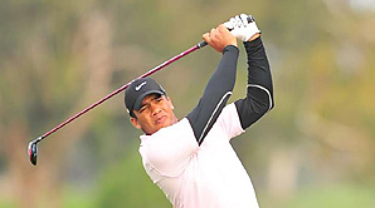 Jhonattan Vegas won the Bob Hope Classic in January.