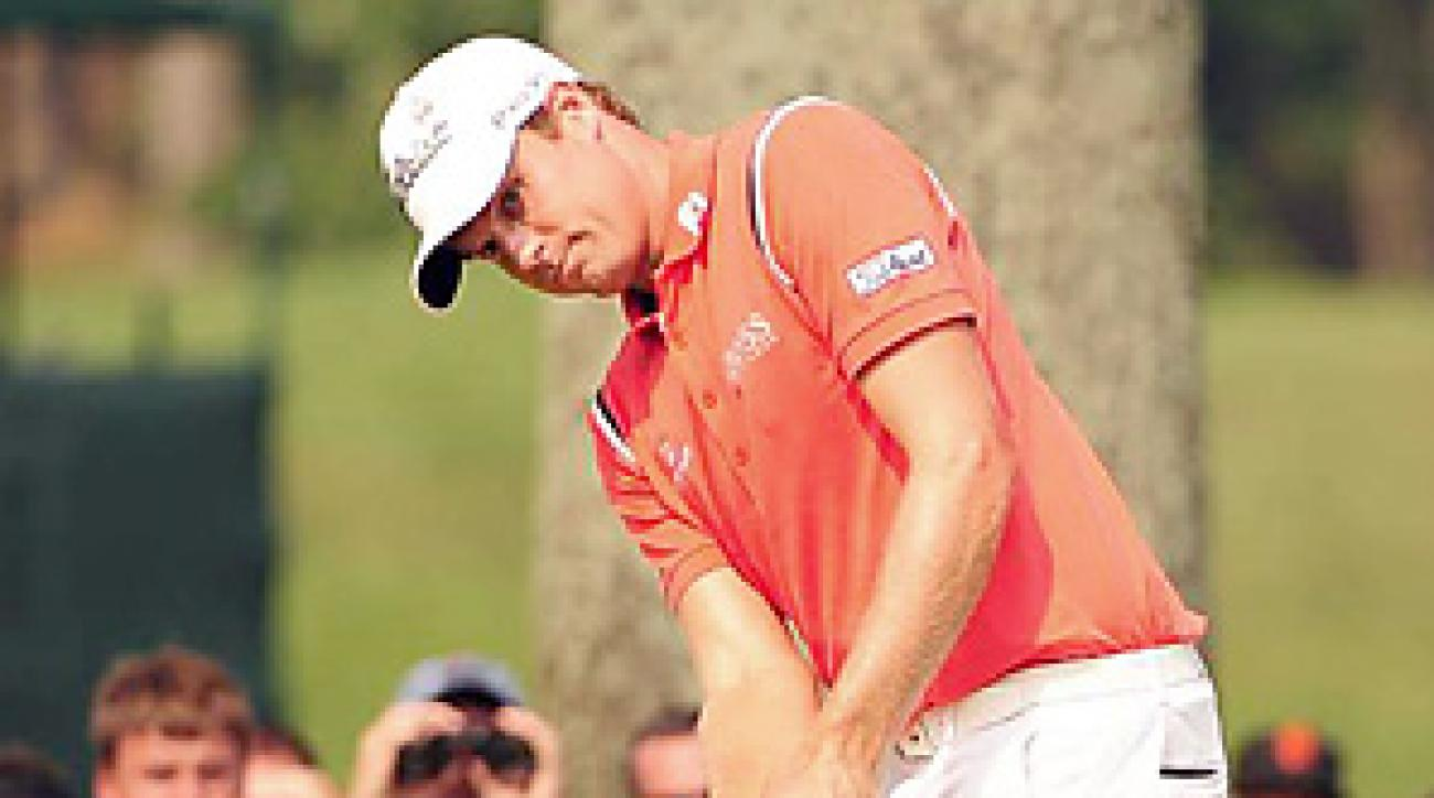 Nick Watney is the highest-ranked player in the field at the Justin Timberlake Shriners Hospitals for Children Open.