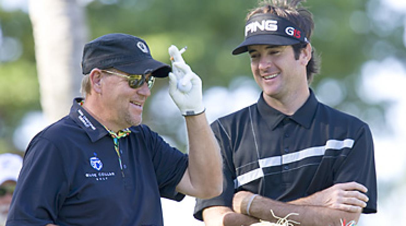 Bubba Watson, like John Daly, has the rare combination of power and extremely soft hands.