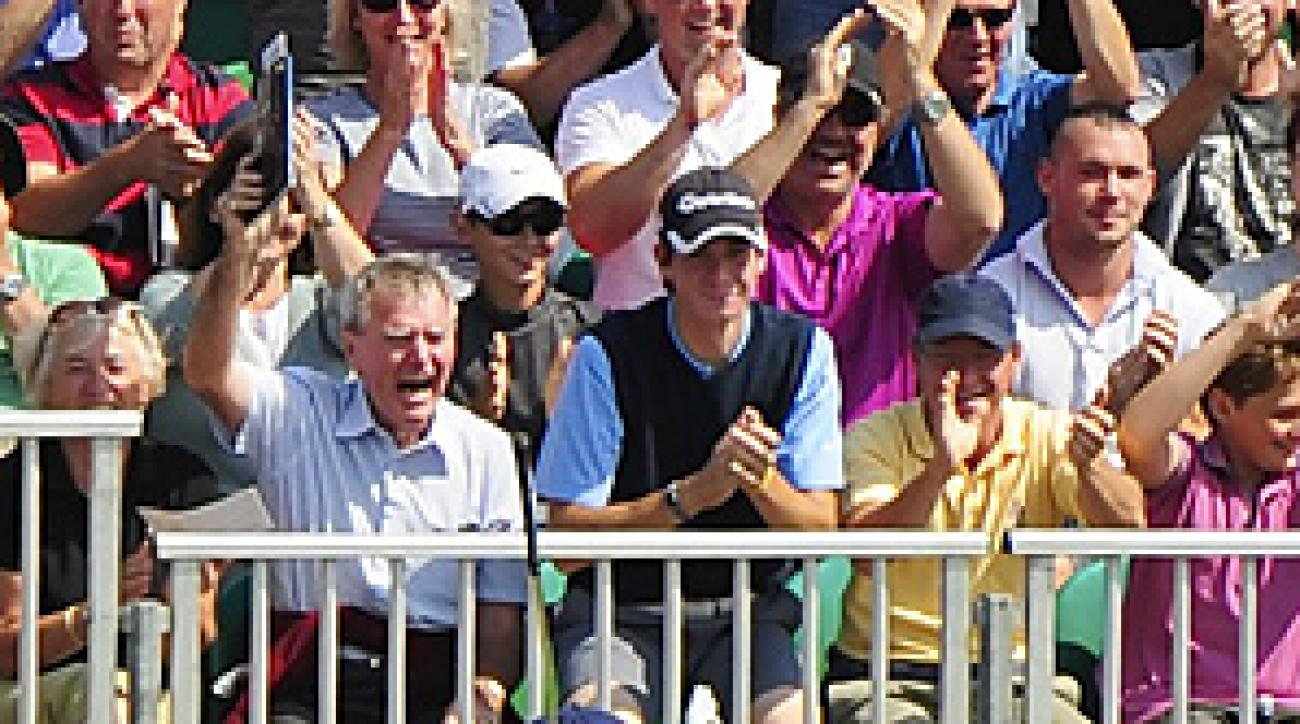 Tom Watson recorded the 15 hole-in-one of his life on Friday at the Open.